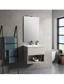 Mobile bagno sospeso 60cm TFT One Sherwood Naturale