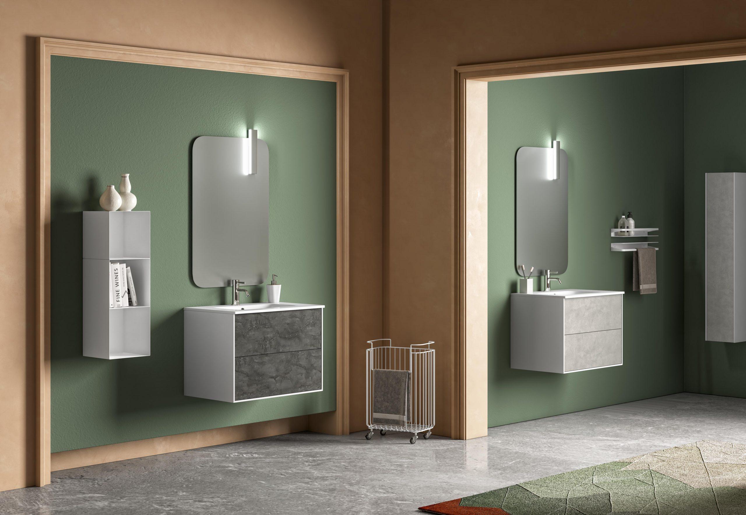 Mobiletti bagno per spazi piccoli? Ecco le nostre proposte